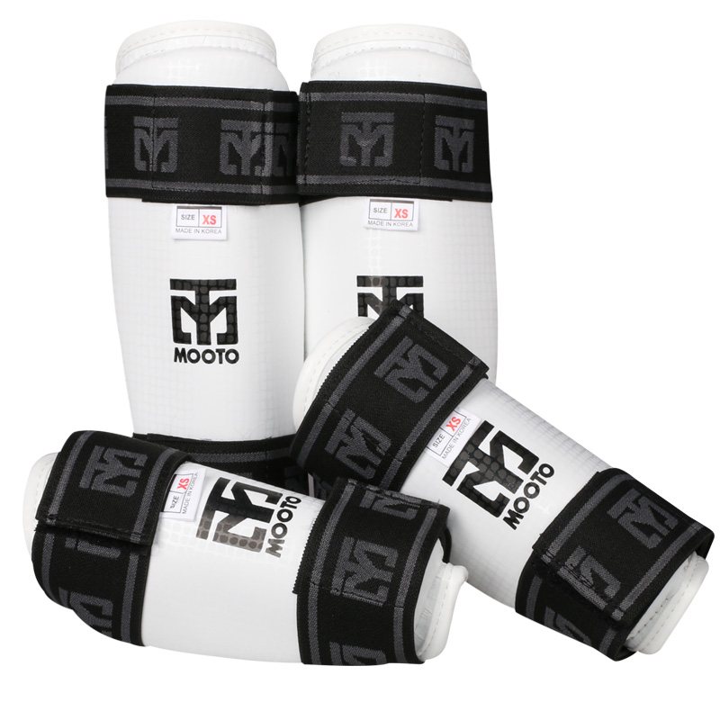 New MMA, Taekwondo, Karate, Martial Arts Black or White Shin Guard