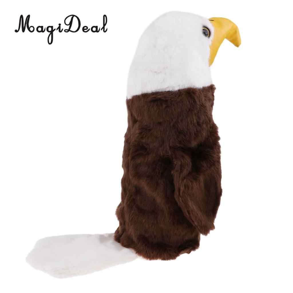 Новинка универсальный чехол для гольфа с деревянной головкой-птица, попугай, бульдог, форма для щенка