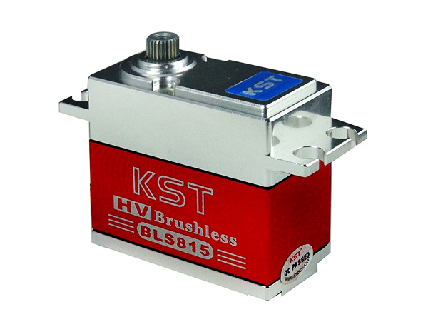 KST 70g/ 20kg/ .07 sec All Metal HV Brushless Digital Servo BLS815 for RC Model Airplane Helicopter kst 70g 20kg 07 sec all metal hv brushless digital servo bls815 for rc model airplane helicopter