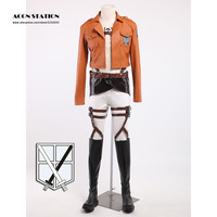 Stylish Eren Jaeger Attack On Titan Cosplay Costume Orange
