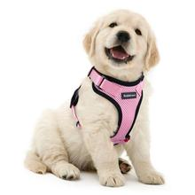 Cat Harness anti flea Adjustable Small Dogs seat belt Vest Harnesses Pink No Choke No Pull Collar Design for Safety and Comfort 8in1 nm cat anti gadget no jar no spraying spray 710 ml 5057815