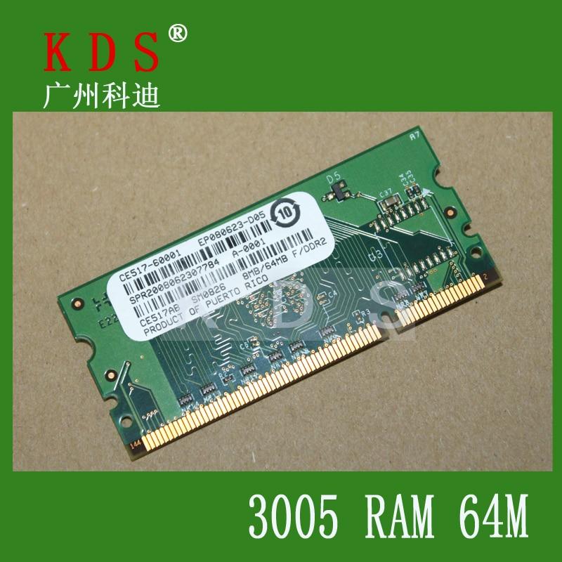 Imprimante Partie RAM Mémoire 8 MB/64 MB Flash Dimm Module Pour LJ 3005 1515 1525 2014 2015 2025 2055 2727, CE517-60001