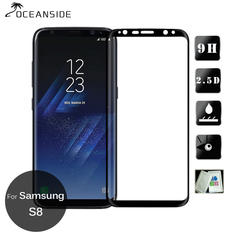 3D All Body Coverage For Samsung Galaxy S8 Full Cover Tempered Glass Screen Protector Safety Film On S 8 <font><b>G950F</b></font> <font><b>SM</b></font>-<font><b>G950F</b></font> image