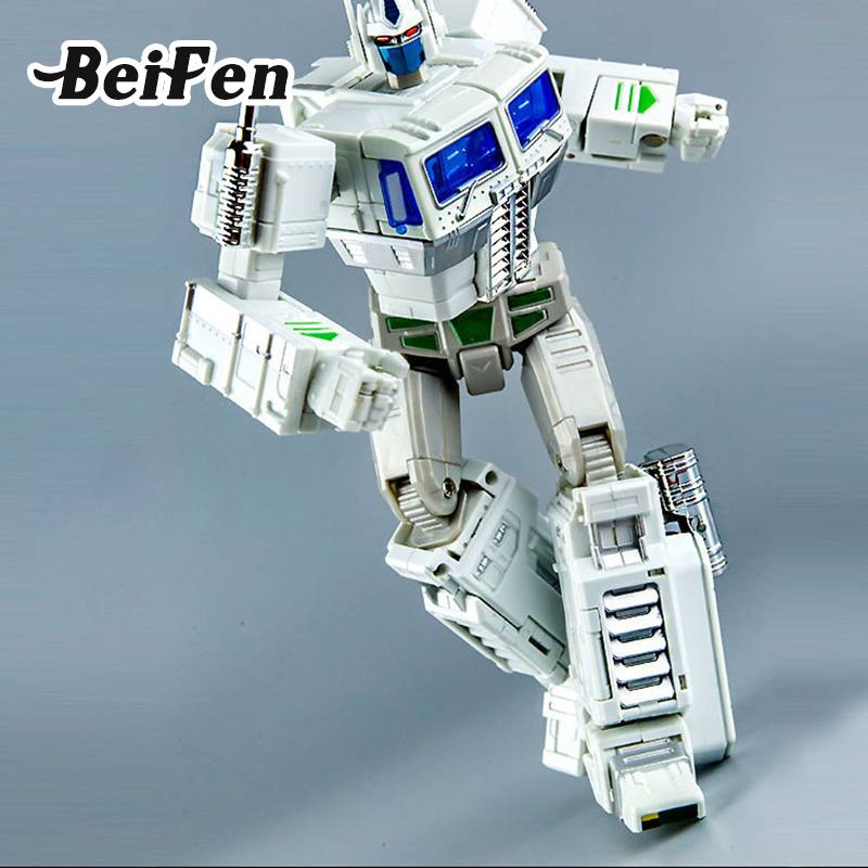 Bei Fen Action Figure Model CAR Robot Big Movie 5 MP-10V Deformation 18cm classic Transformation toy for Children Christmas Gift new arrive kids toy bumblebee toy classic anime transformation robot action figure mobel metal birthday gift for children ws116