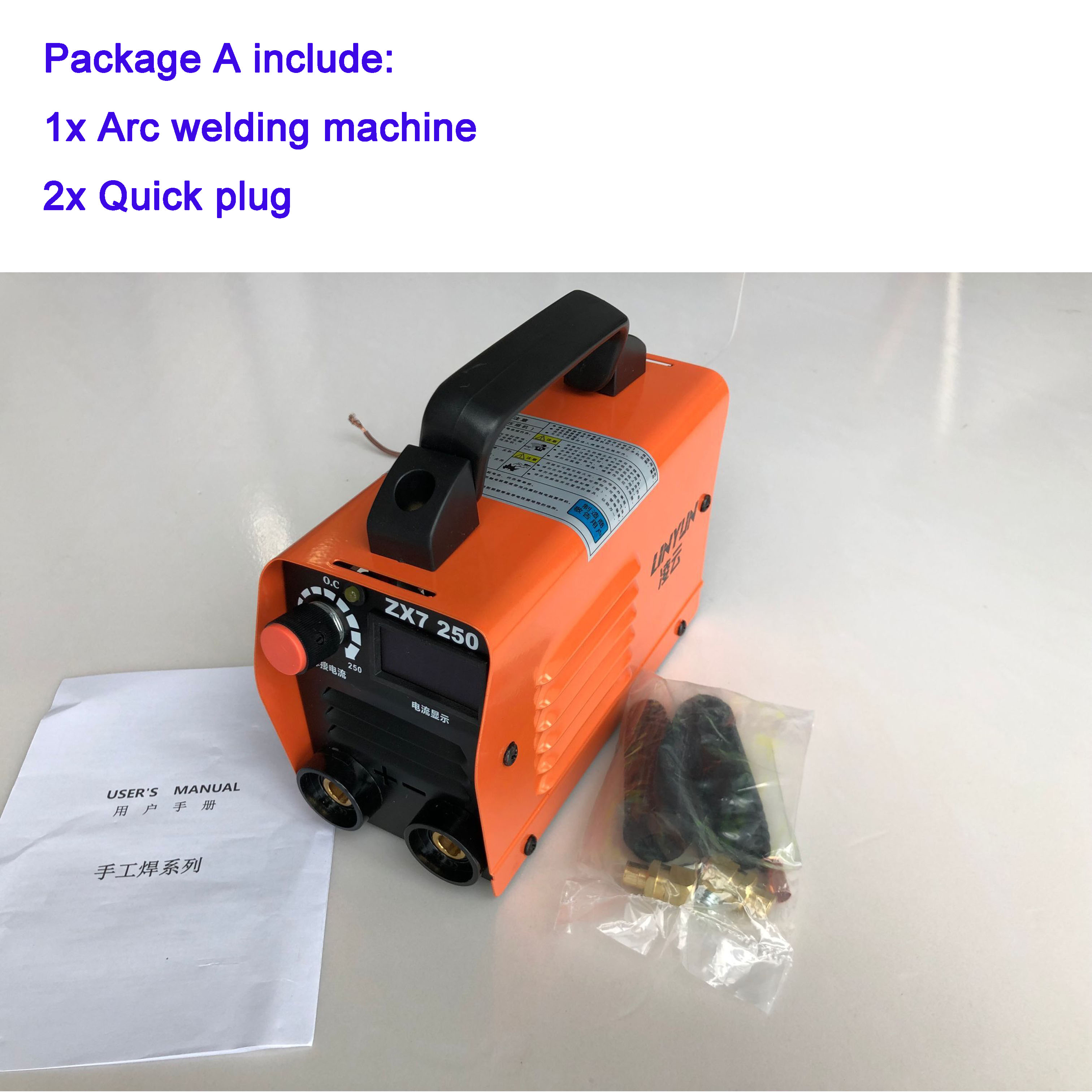 Zx7 250 Mini Welding Machine Welding Inverter 220V Inverter Welder