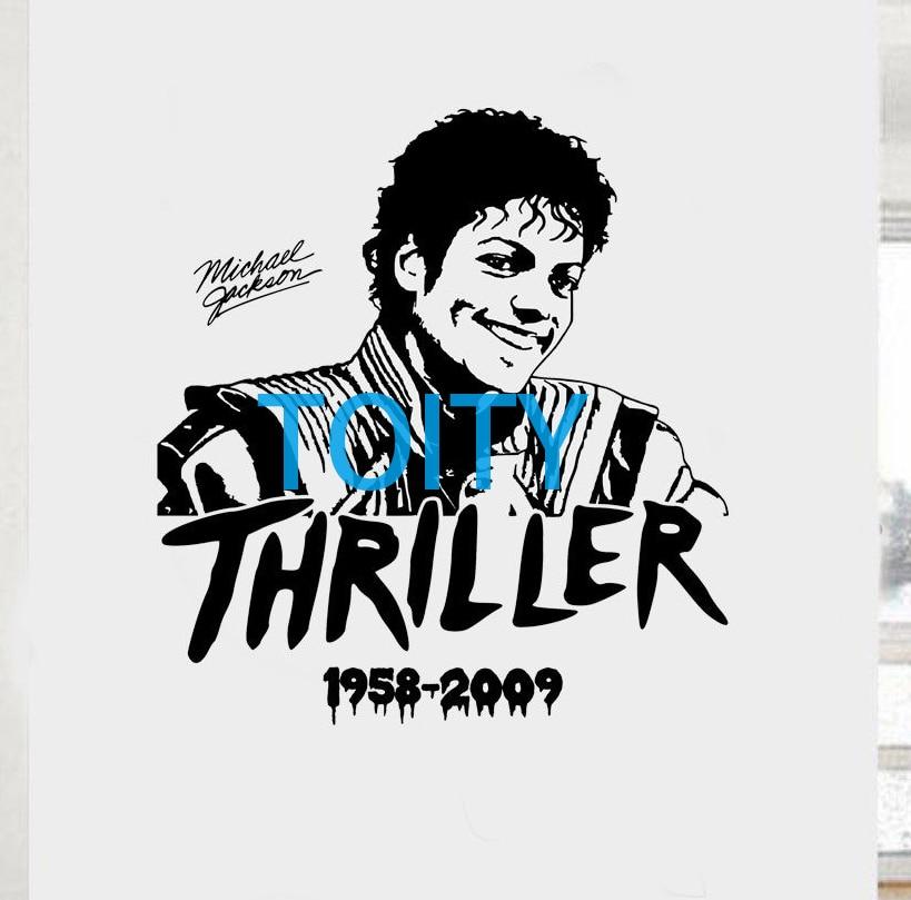 Michael Jackson Wall Room Decor Art Thriller Poster Music