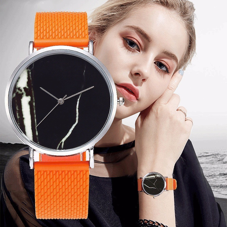 CCQ Brand Jelly Silicone Strap Women Men Creative Marble Watches Wristwatches Casual Simple Quartz Watches Gift Drop Shipping 2017lady gift enmex design silicone strap creative changing patterns dail japanese style simple quietly elegant quartz watches