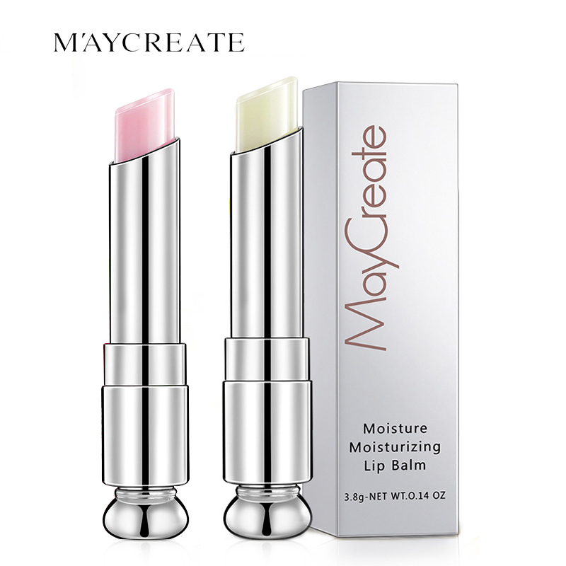 2/1 Pcs Lip Care Nourishing Makeup Lemon Strawberry Flavor Lip Balm Moisturizer Lipstick Makeup Anti-cracking Lip Balm TSLM2