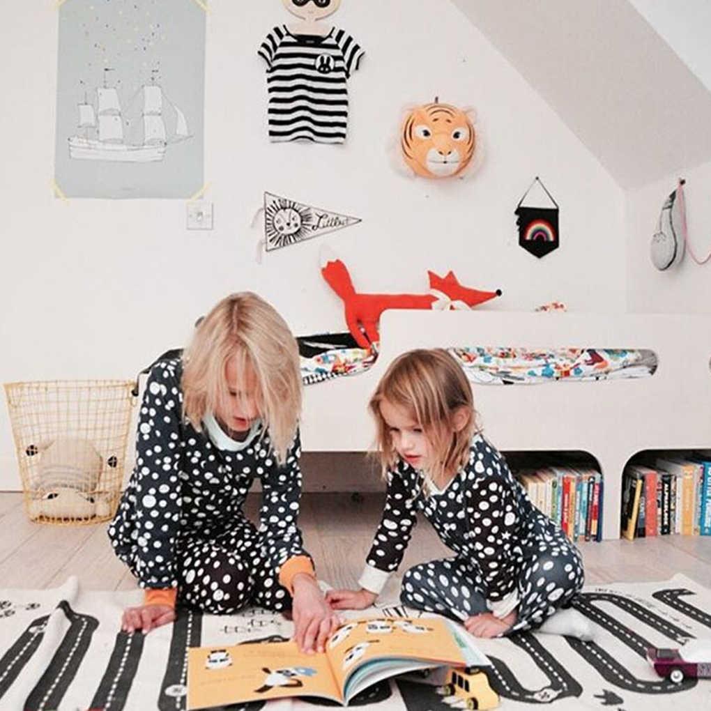 Kid Weg Kruipen Tapijt Speelkamer Nursery Tapijt Game Mat Baby Deken Jongen Meisje Slaapkamer Tapijt Woonkamer Play Mat 70 cm * 175 Cm