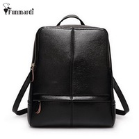 2015 New Arrival Preppy PU Leather Backpack Summer Fresh School Bag Candy Colors Leather Women Bag