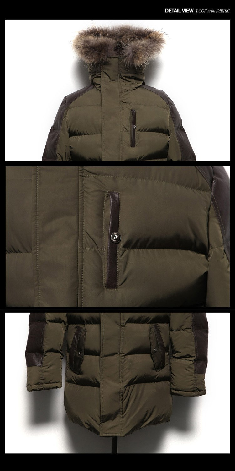 2015 мужчины вниз пальто зима тонкий свободного покроя летит с caption куртка марка дизайн мода снег теплый хлопок западе утолщение куртка подходит