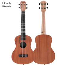 цена на 23 Inch Concert Ukulele Sapele Wood 18 Fret Hawaii Four Strings Guitar Ukelele YAEL Musical Instrument