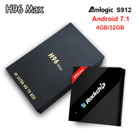 Genuine 10pcs Lot H96 Max Tv Box RK3399 Six Core 2GB 16GB 4GB 32GB Android
