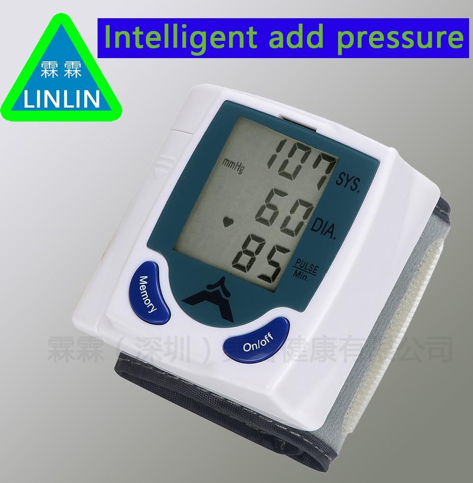 LINLIN Intelligent pressure wrap up wrist blood pressure monitor hemadynamometer Measuring instrument volume diagnostic tool