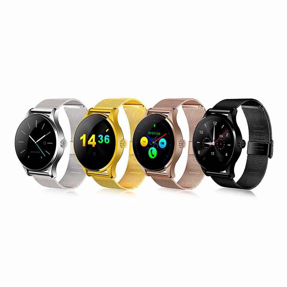 Смарт-часы Smarcent K88H, спортивные наручные часы, Bluetooth, монитор сердечного ритма, шагомер, Смарт-часы с функцией набора телефона для Android IOS
