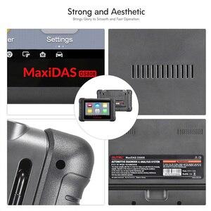 Image 3 - Autel MAXIDAS DS808 OBDII Automotive Scanner OBD2 diagnose werkzeug für ECU informationen schlüssel codierung code reader PK Maxisys MS906