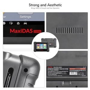 Image 3 - Autel MAXIDAS DS808 OBDII skaner motoryzacyjny OBD2 narzędzie diagnostyczne dla informacje ECU kodowanie kluczy czytnik kodów PK Maxisys MS906