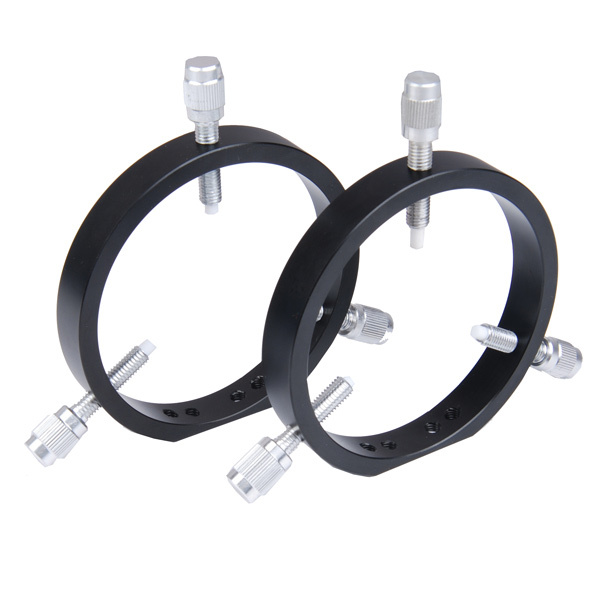 ФОТО 2 pcs 102mm Guide Scope Rings Works with both Losmandy D Style and V Series Vixen Style plates