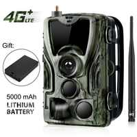 HC-801LTE 4G Hunting Camera 16MP 64GB Trail Camera IP65 Photo Traps 0.3s Wild Camera With A 5000Mah Lithium Battery for a gift