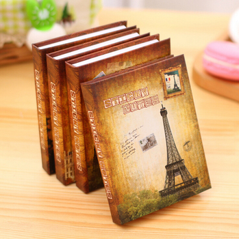 N23 Vintage Landscape Building Towel Hard Cover Memo Pads Planner Sticker Student Gift Stationery Sticky Notes Notepads  Y56 Recent Colourful Feather Memo Pads Sticky Notes Stick Paper Message Sticker Bookmark Marker of Web page Stationery Faculty Provide HTB1N2MtPVXXXXXMapXXq6xXFXXXD
