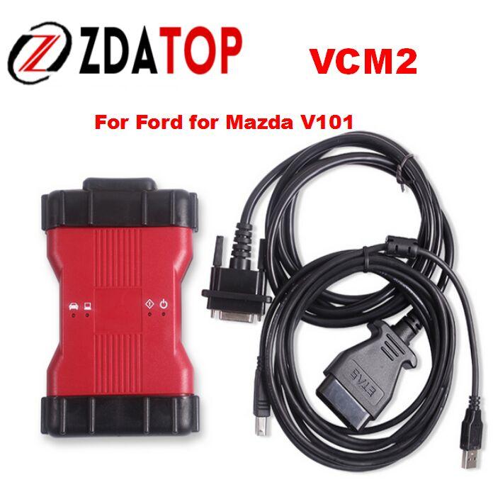 Цена за Низкая цена V98 Ford VCM2 диагностический сканер VCM IDS II для ford транспортных средств V101 IDS VCM 2 для Mazda Поддержка Многоязычная