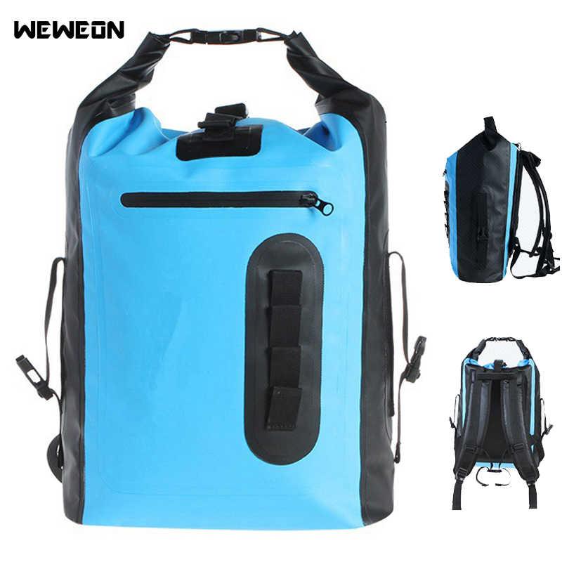 3a9f24b7d3 8L 30L Outdoor Waterproof Backpack Dry Bag For Kayaking Rafting Drifting  Waterproof Dry Storage Tote Bag