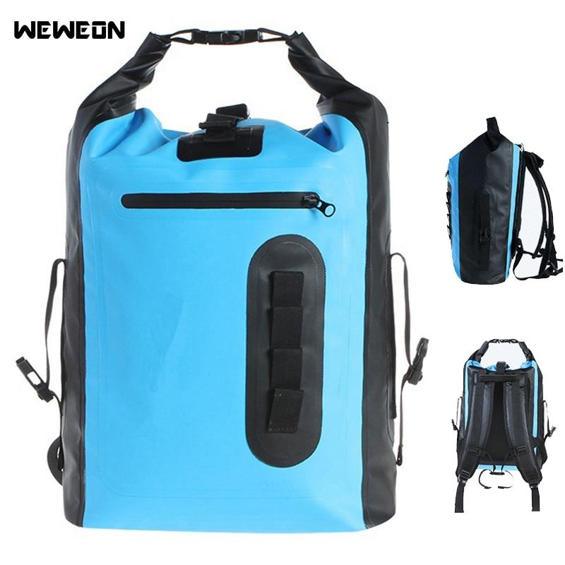 8l 30l Waterproof Dry Bag Backpack For Kayaking Rafting Drifting Outdoor Waterproof Dry Storage Tote Bag Bolsa De Deporte