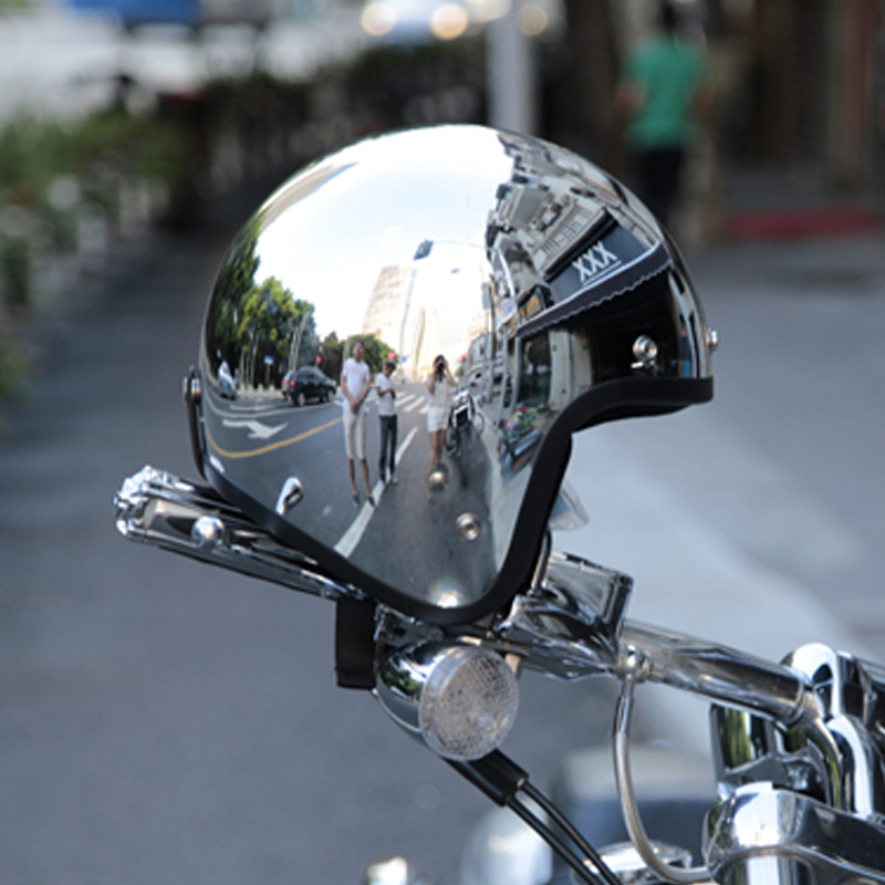 LDMET jet specchio casco del motociclo nastro capacetes de motociclista harley chrome vespa helm casco cafe racer