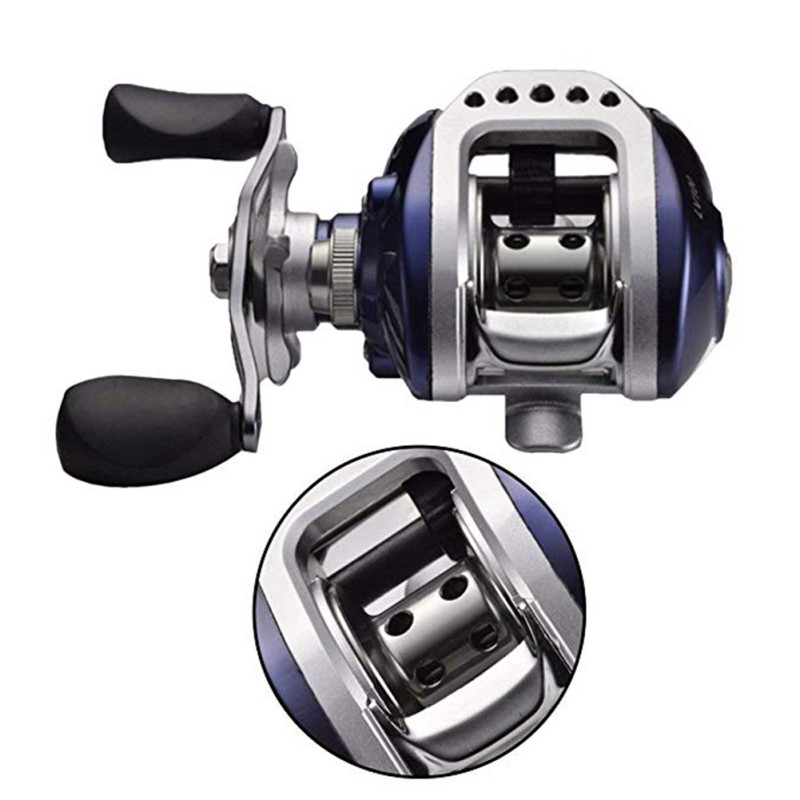 Detachable 11 fishing bearing reel 6.3:1 metal cover left/right hand bait casting fishing wheel tool(China)