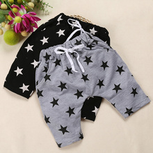 SK027 Free Shipping  2017 Wholesale New 1PC/Lot Children Baby Boy Girl Child Summer Cute Cool Star Pants  Capris Birthday Gift