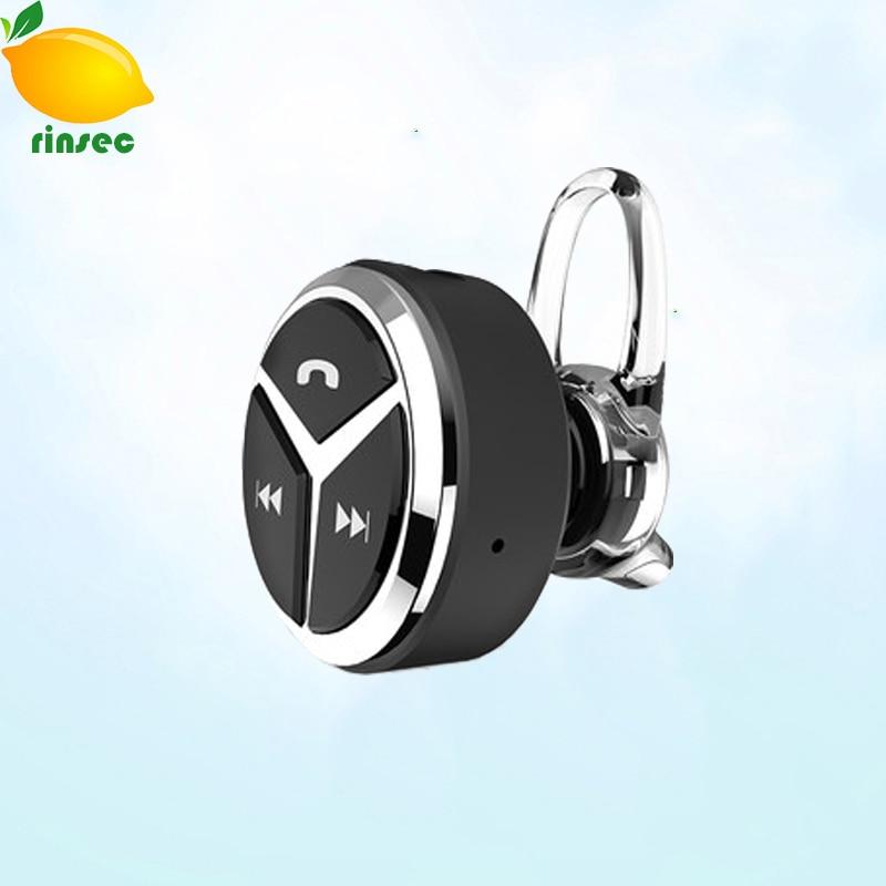 RINSEC Fashion Q5 Mini Bluetooth wireless headset Stereo Universal earphone 4.1 Handfree earring for iphone samsung smartphone