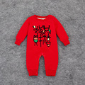 New Year Gift Traditional Baby's Clothing Thick Print Infant Jumpsuit Romper Winter Onesie for Baby Boys Girls Superdeals