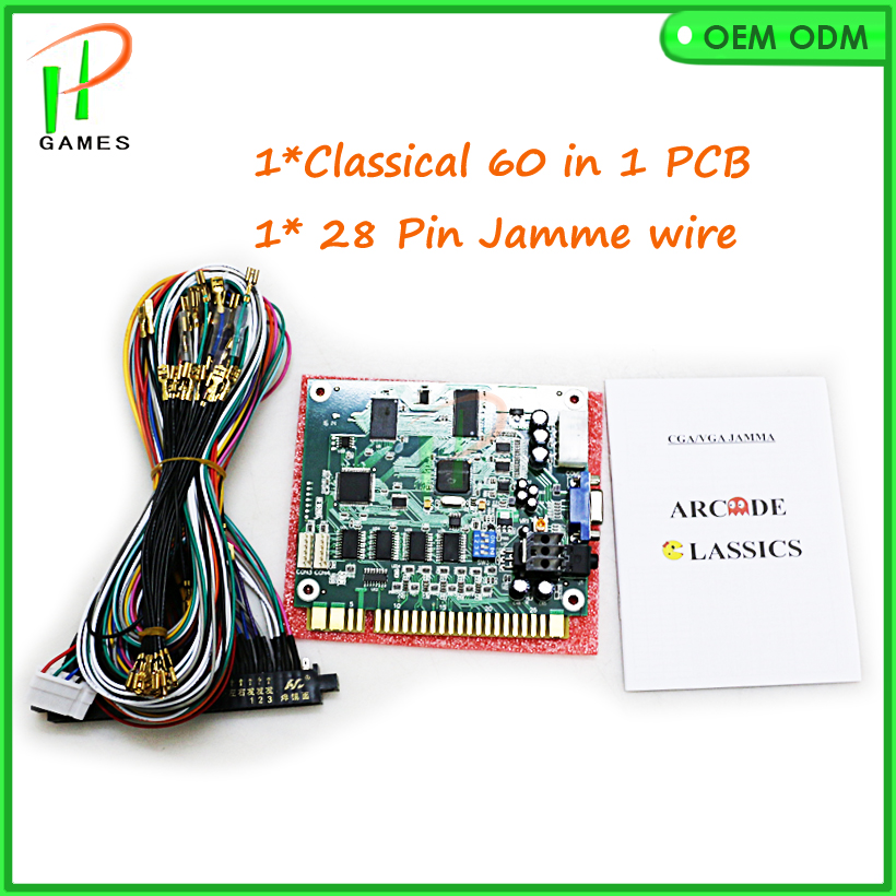 us $47 0 60 in 1 jamma game pcb 2016 jamma 60 in 1 classical game pcb for cocktail arcade machine or up right arcade game machine in coin operated  wiring an arcade cabinet using the