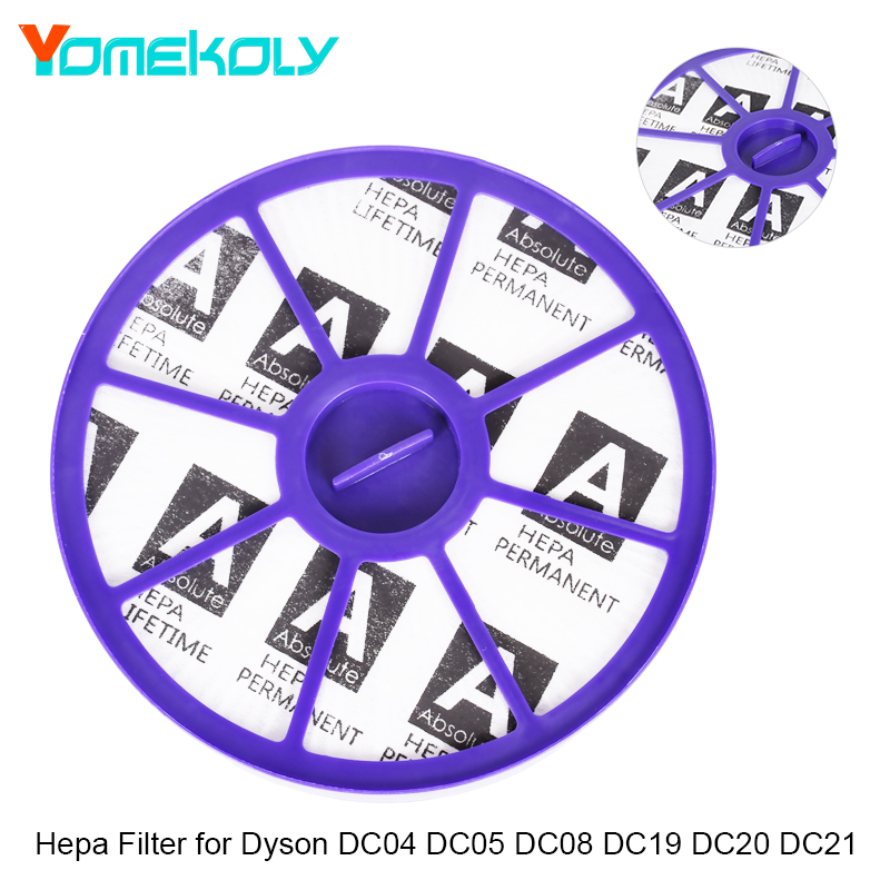 YOMEKOLY 1PC Hepa Filter for Dyson DC04 DC05 DC08 DC19 DC20 DA21 Vacuum Cleaner Parts Filter Cleaner Accessories vacuum cleaner dc04 hepa filter motor filter replacement for dyson dc05 dc08 dc19 dc20