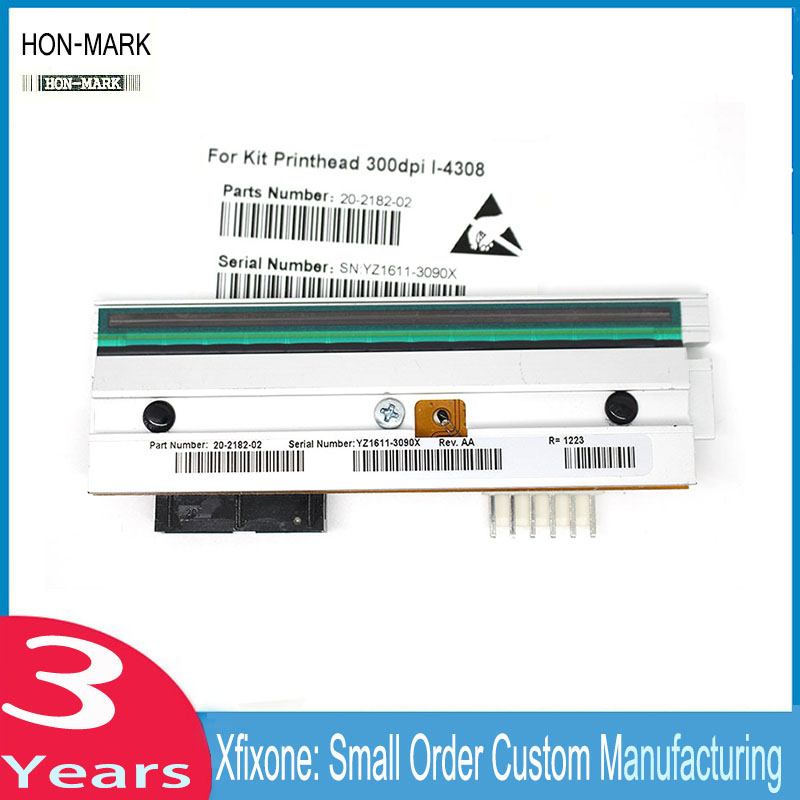 HON-MARK New and Compatible I-4308 Thermal Barcode Printer Printhead For Datamax-O'Neil I-4308 A4310 300dpi new thermal print head printhead compatible for datamax i4206 i4208 i 4206 i 4208 thermal barcode printers 20 2181 01 203dpi