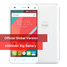 Globale Version IPRO Mehr 5,0 Smartphone Android 5.1 5,0 zoll Setzte Handy Quad-Core 1G + 8G 4000 mAh Große Batterie Handy