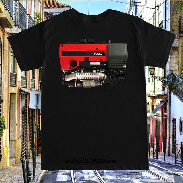 US $11 99 |Details About K20c1 Engine Civic Type R Fk2 Fk8 K20 K20c1 Red  Valve Cover Turbo Boost T Shirt-in T-Shirts from Men's Clothing on