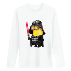 Minions and darth vader cosplay homme men women t shirts spring autumn long sleeve cotton tshirt.jpg 250x250