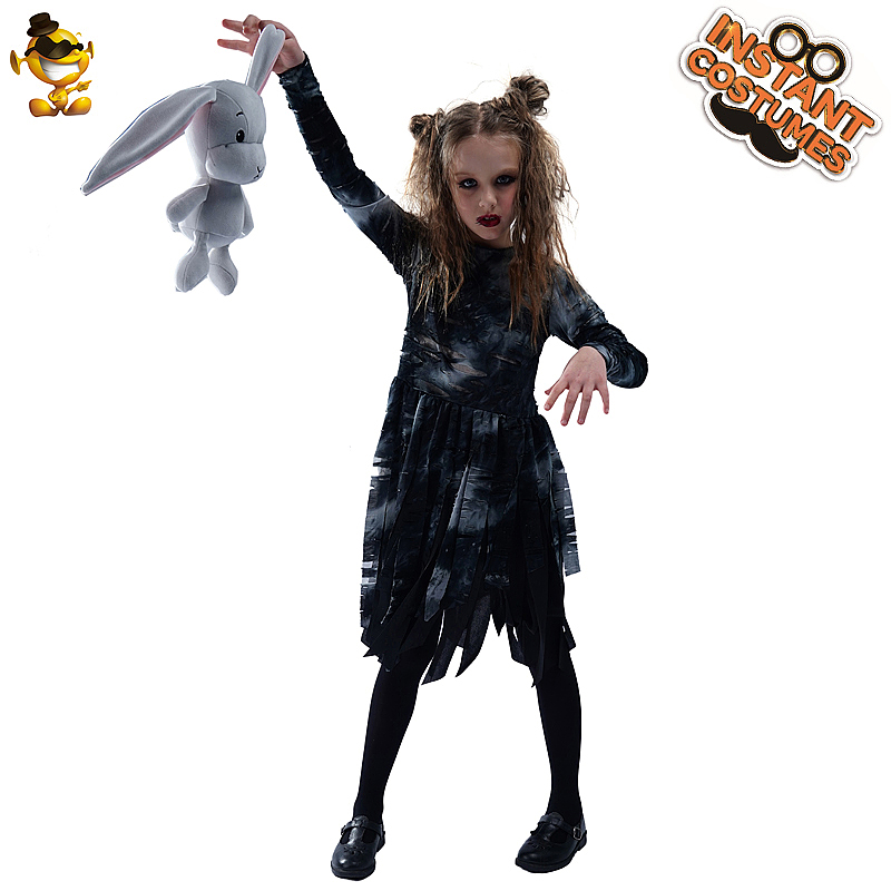 Skeleton Tights Halloween Witch Zombie Fancy Dress Costume Accessory