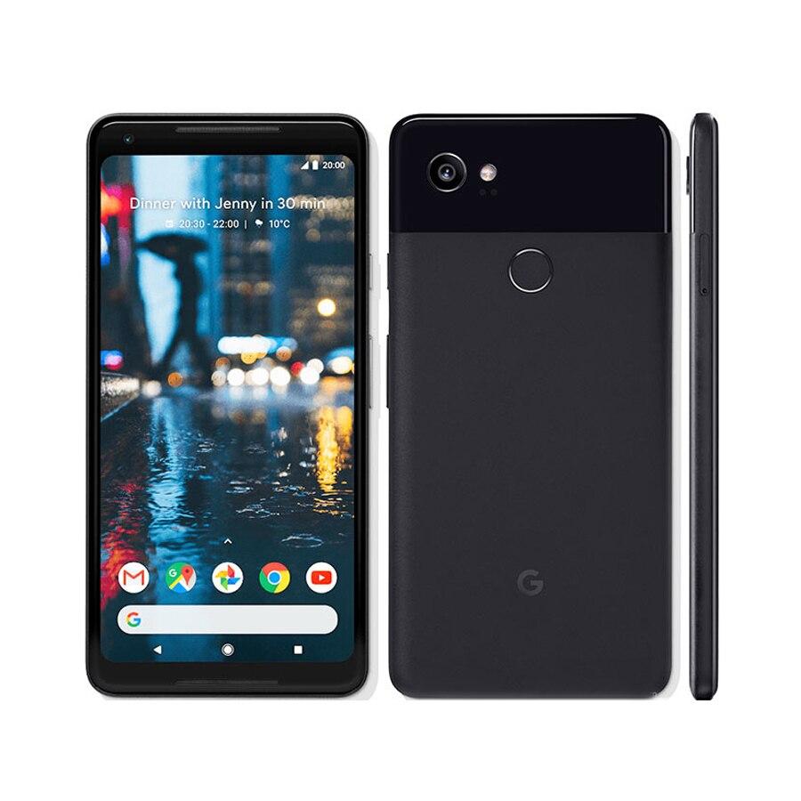 Фото. Оригинальный мобильный телефон Google Pixel 2 XL EU version LTE 6,0 дюйм 4 Гб ОЗУ 64 Гб/128 Гб