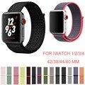 44 м мм 40 мм 42 мм 38 мм цветной спортивный нейлоновый ремешок для часов для Apple Watch Band iWatch Series 4 3 2 1 ремни наручные часы полосы - фото