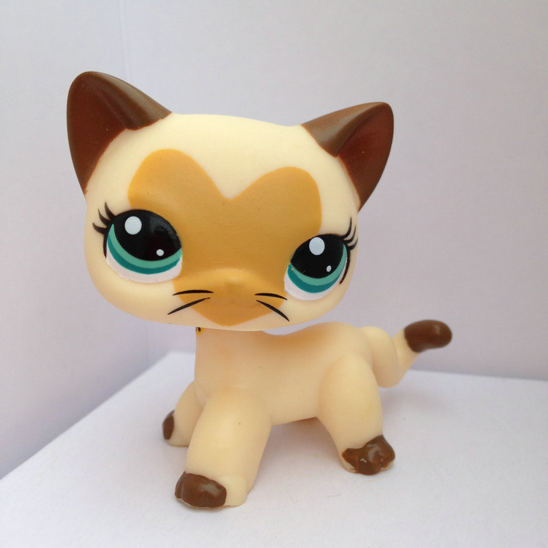 Aliexpress.com : Buy LITTLEST PET Animals Collection LPS Figure For Girl Short Hair Cat DWA262 ...