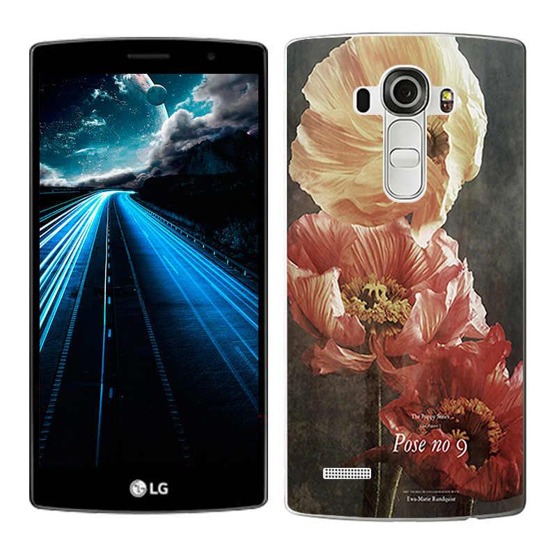 Fundas Telefon Fall Abdeckung Für LG G4 H815 H810 H811 VS986 LS991 Weiche TPU Silicon Landschaft Gemalt Telefon Taschen für LG G4 Shell Capa