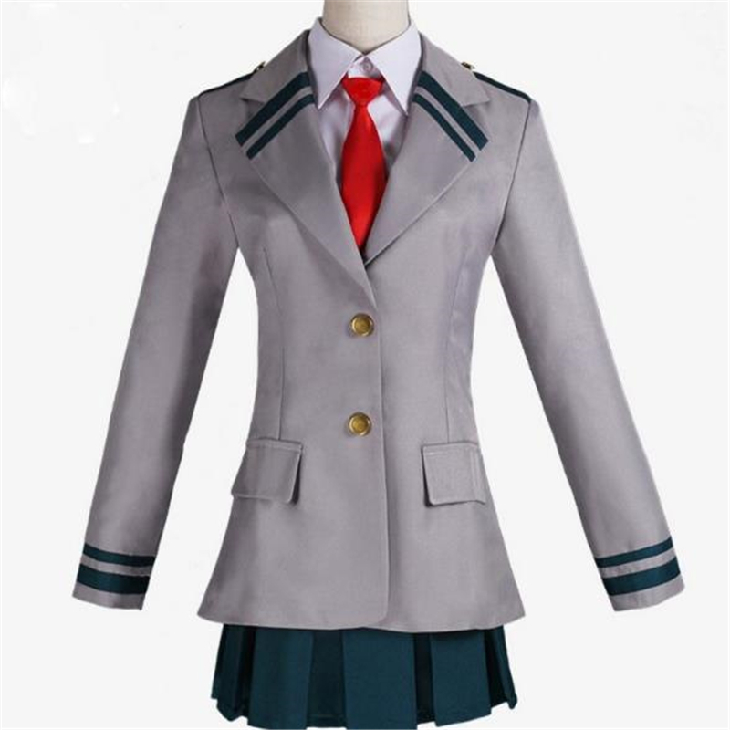 My Hero Academia Cosplay Costume School UniformCosplay Japanese Anime Halloween Anime Uniform Women Men BOOCRE in Anime Costumes from Novelty Special Use