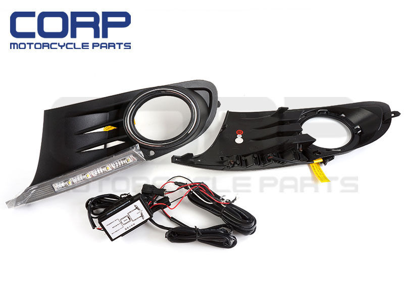 LED DRL Driving Day Daytime Running Day Light For Volkswagen Golf 6 VI MK6 09-12 2009 2011 year golf 6 led daytime running light