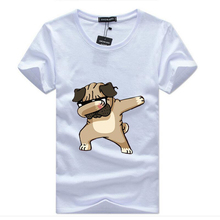 Men's T-shirt Fashion Animal Dog Print