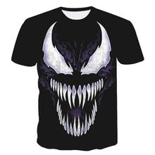 e5016217d1ca New arrive popular marvel movie venom t shirt men women 3D print fashion  short sleeve tshirt