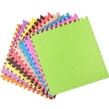 60x60x2.4cm Foam Puzzle Mat Baby Floor Play Carpet Jigsaw Kids leaf pattern