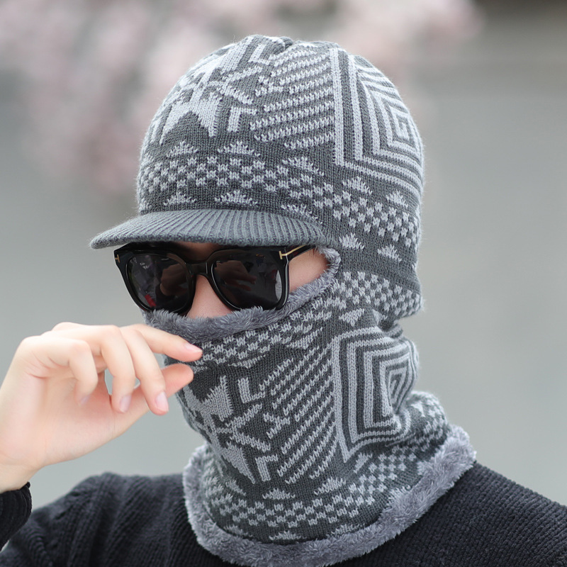 Cotton Scarf Caps 2018 Winter Hats   Skullies     Beanies   Hat Winter   Beanies   For Men Women Balaclava Mask Gorras Bonnet Knitted Hat