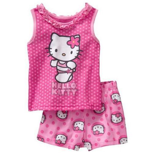 Aliexpress.com : Buy New summer kids cartoon pajamas set/Cute baby ...